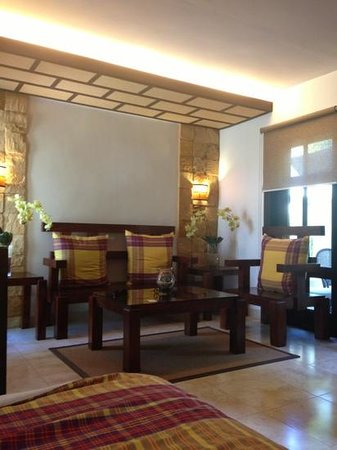 Bearland Paradise Resort: living area inside the cabana