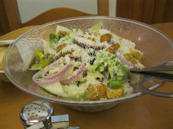 Salad Picture Of Olive Garden North Myrtle Beach Tripadvisor