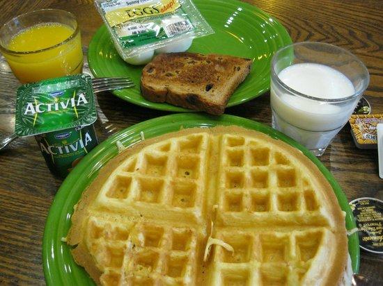 ホームウッド スイーツ バイ ヒルトン ボーズマン, 朝食です。