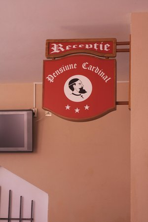 Entry to Pensiunea Cardinal