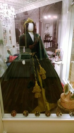 Road To Tara Museum: The curtains - not the Carol Burnett version