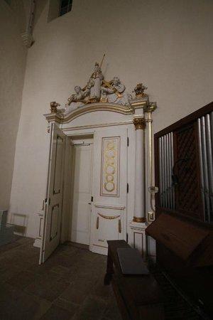 Klosterkirche Woltingerode St. Mariae: Zugang zur Kirche