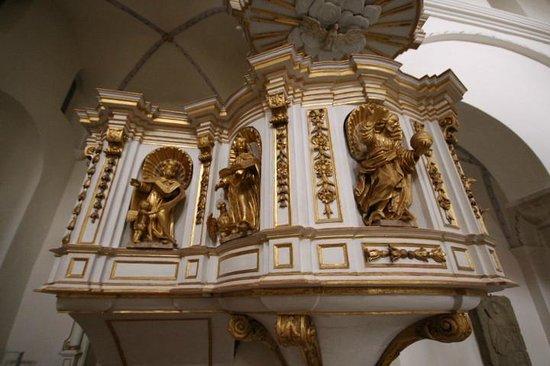 Klosterkirche Woltingerode St. Mariae: Kanzeldetail