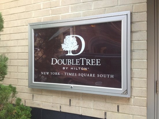 Doubletree By Hilton - Times Square South: Hotel sign