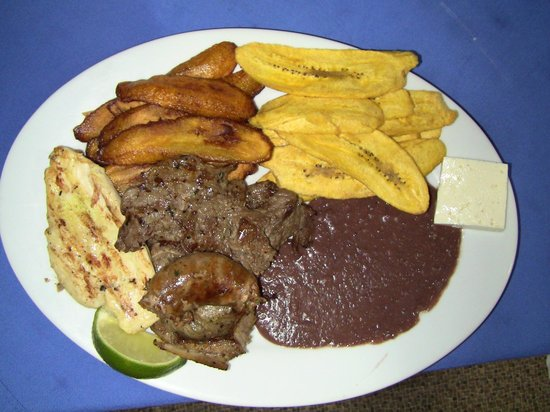 Ponderosa: Delicious four meat BBQ.