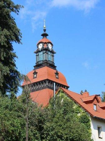 Ev.-luth. Kirche Moritzburg: Außenansicht