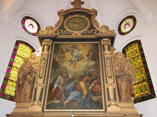 Ev.-luth. Kirche Moritzburg: Altardetail