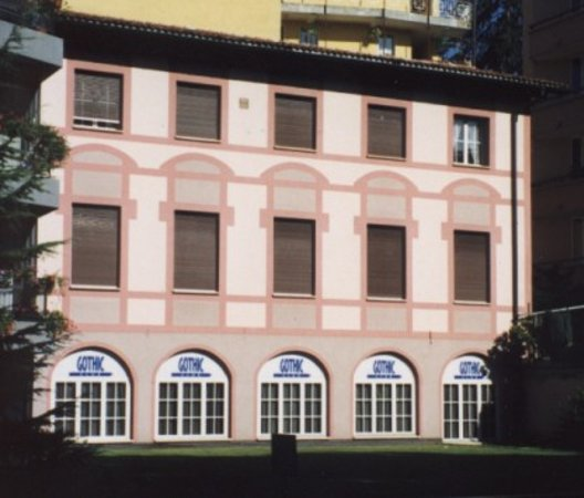 Lugano, Switzerland: Gothicsauna