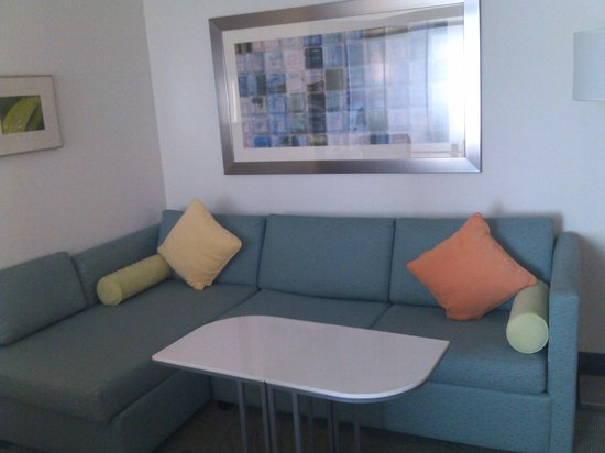 SpringHill Suites Oklahoma City Moore: Living area