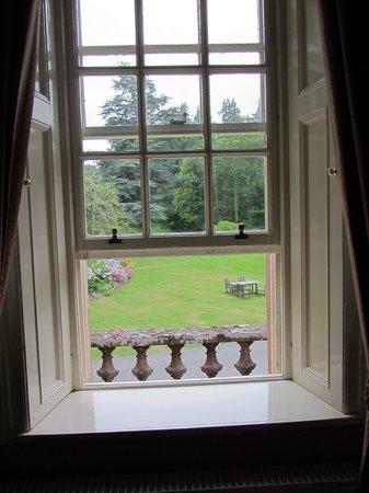 Bunchrew House Hotel: view from bedroom