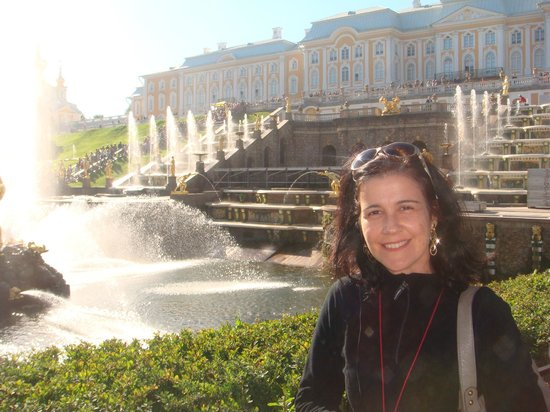 UlkoTours -Day Tours : The Great Cascade and the Great Palace at Peterhof