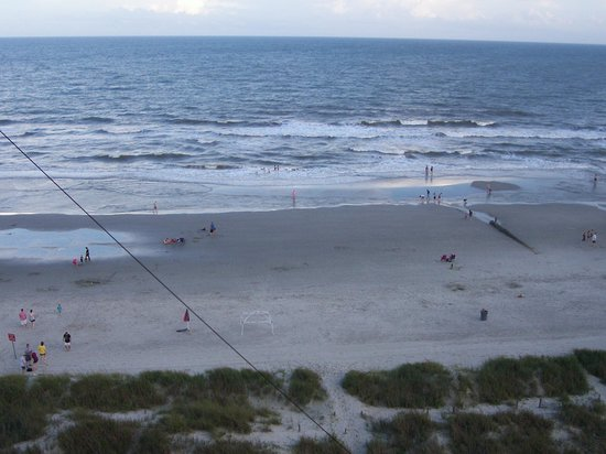 Best Western Ocean Sands Beach Resort: View from 8th floor