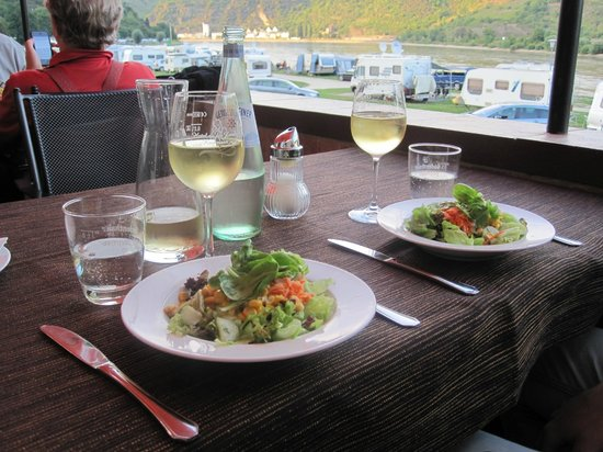 Hotel Keutmann Restaurant: salads at Hotel Keutmann