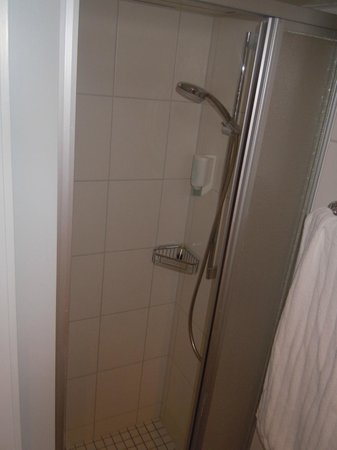 Sorell Hotel Aarauerhof: Ducha diminuta