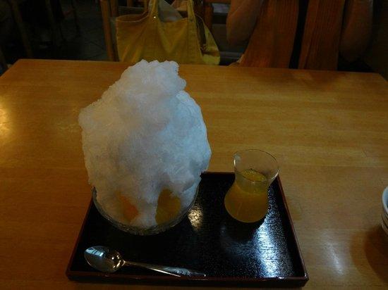 Funabashiya Kameidotenjinmae: かき氷 夏みかん味