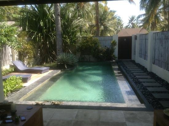 كيلابا لكشري فيلاز: Our lovely salt water pool