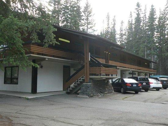 Rear of Bumpers Inn