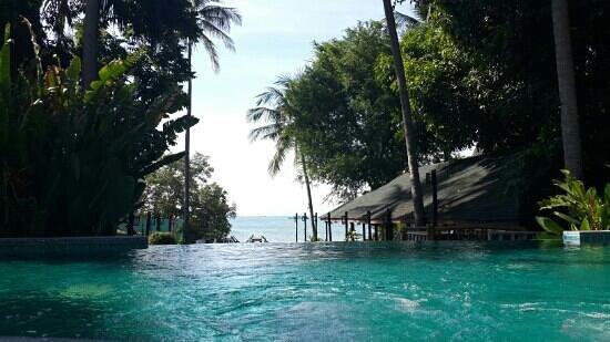 Anyavee Railay Resort: วิวจากสระว่ายน้ำ ขนาด 4×18 เมตร
