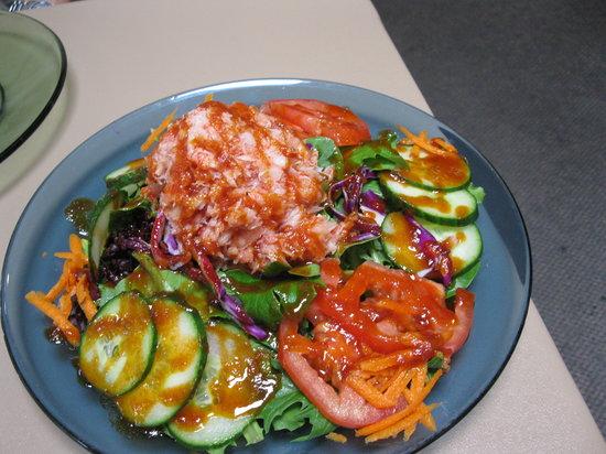 Sweet Basil's Cafe: crab salad