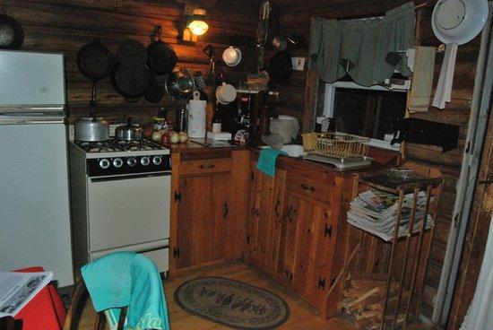 Spencer Pond Camps: Kitchen