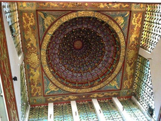 Ma-Cho Temple: Dome inside main temple