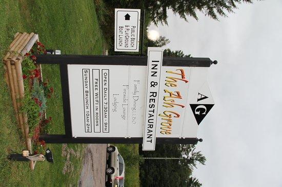 Ash Grove Inn: Sign at entrance