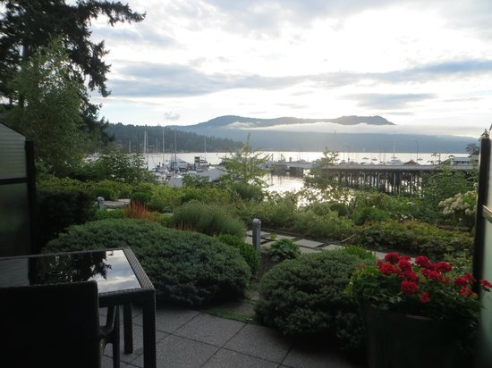 Brentwood Bay Resort & Spa: View from our room