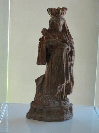 Museum of Archeology (Muzeum Archeologiczne w Gdansku): Clay statue of Virgin Mary