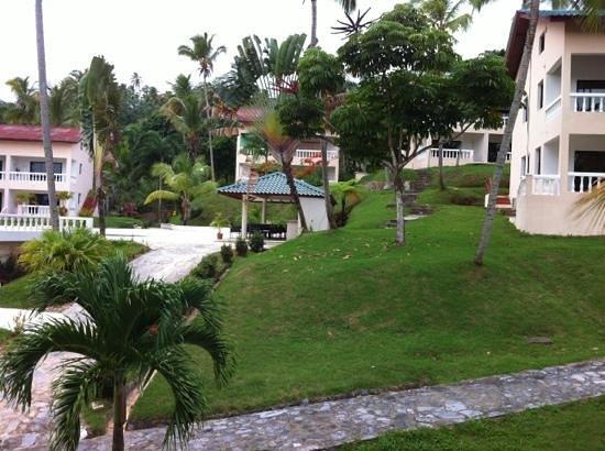 La Tambora Beach Resort: vista desde nuestra Villa!