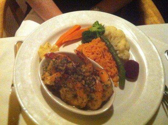 Le Gros Restaurant: Tiger prawns
