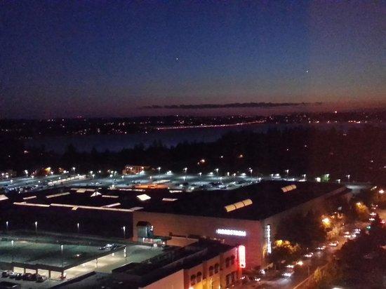 Hyatt Regency Bellevue: southwest view from the 21st floor