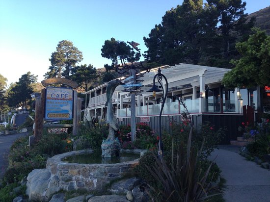 Gorda Springs Resort: Whale Watcher Cafe