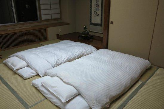 Senshoen: the beds