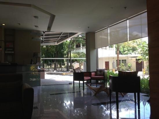 St. Mark Hotel: Quiet lobby