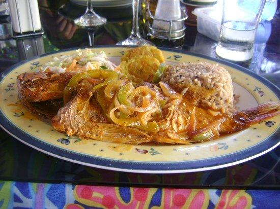 Yarisnori: Pargo con arroz