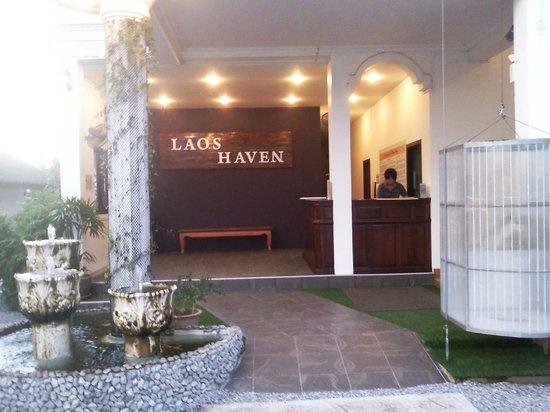 Laos Haven Hotel: Lobby