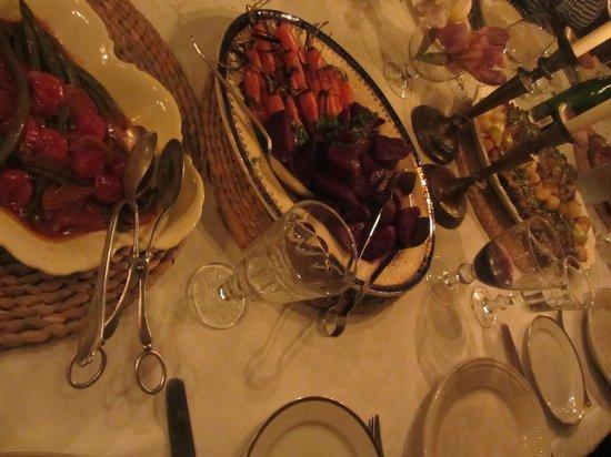 Halfaampieskraal: Every meal a feast