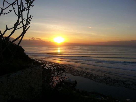 Anantara Uluwatu Bali Resort: Sunset from the suite