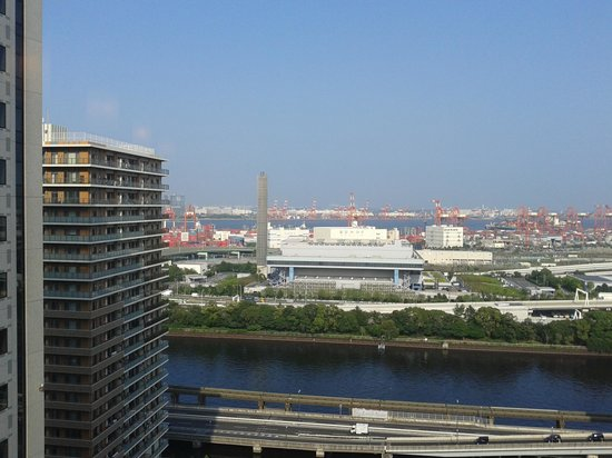 Sunroute Shinagawa Seaside : View from the Room