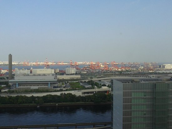 Sunroute Shinagawa Seaside: View from the Room