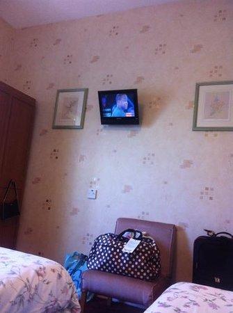 Maycliffe Hotel: tiny telly