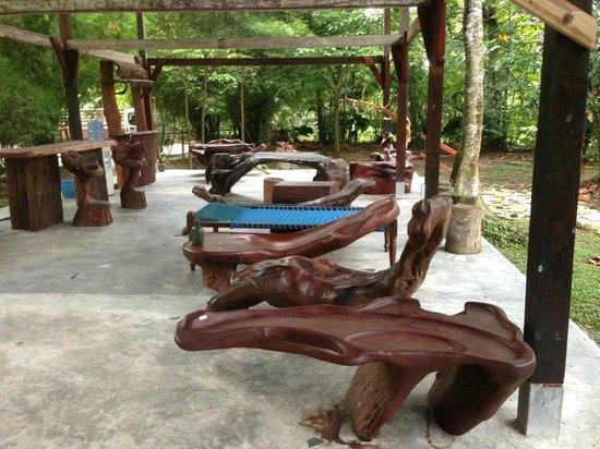 Nomad Earth Camp : Lounge Area