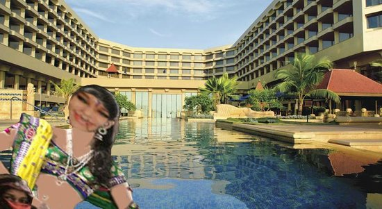 JW Marriott Mumbai Juhu: Relaxing