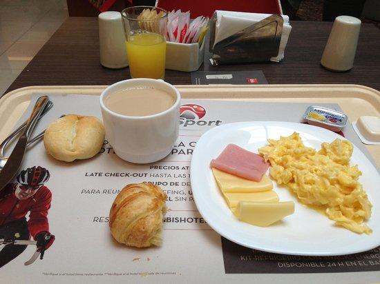Ibis Larco Miraflores: desayuno