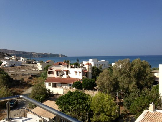 Hotel Alonia: View from the balcony