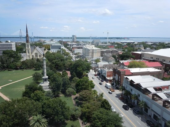 Francis Marion Hotel: View from my room