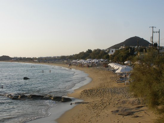Mediterranean Hotel: Agios PROKOPIOS sandy beach