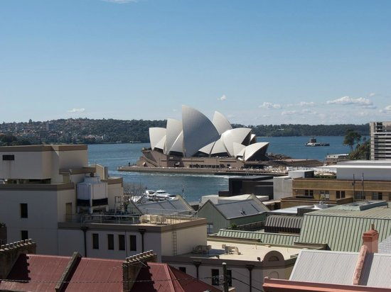Sydney Harbour YHA: View from our room