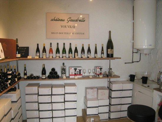 Chateau Gaudrelle, Vins de Vouvray: Tasting Room
