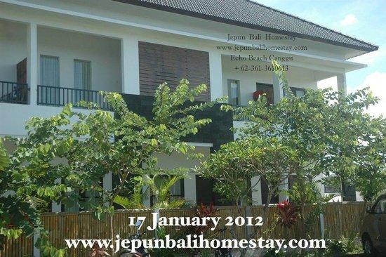 Jepun Bali Homestay: Front side